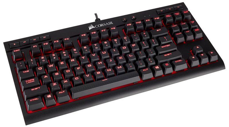 美商海盗船Corsair K63机械键盘简单评测