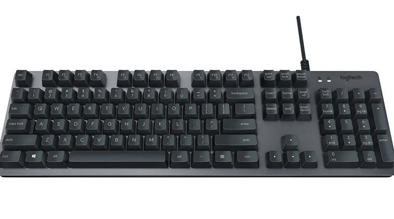 罗技 Logitech K840 机械键盘简单评测
