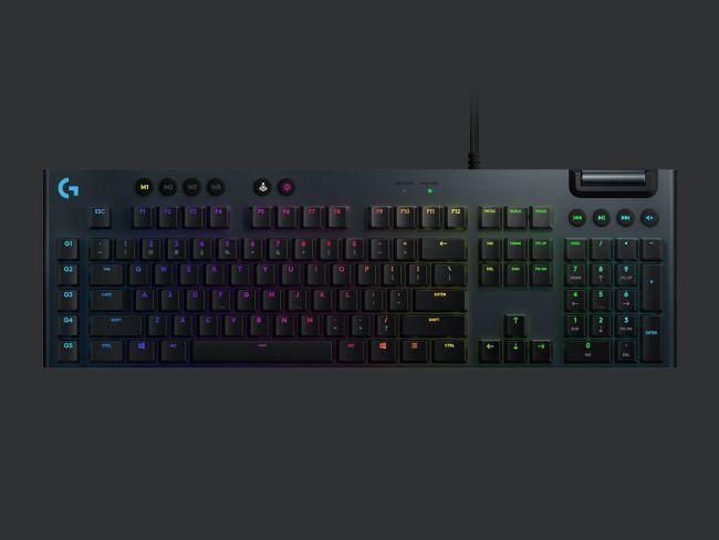 罗技宣布推出超薄Lightspeed Wireless游戏机械键盘