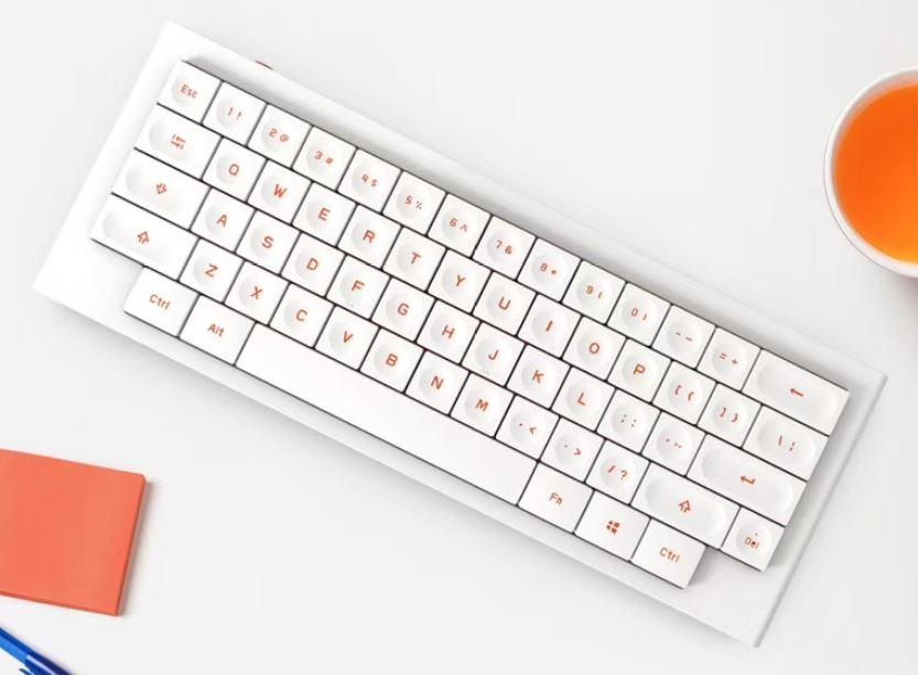 Morgrie Works将在CES上演示独特的Lowpro 60%布局机械键盘