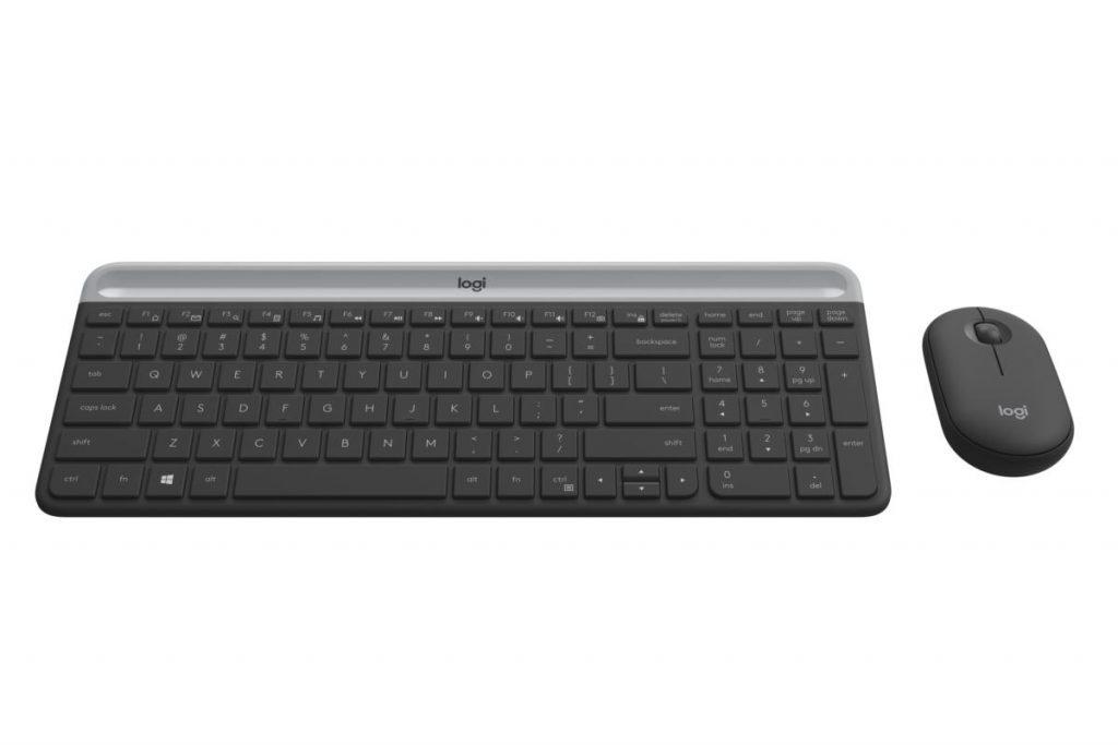 罗技Logitech MK470 Slim无线键盘鼠标套装评测