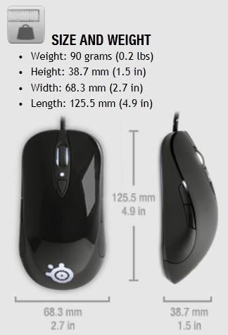 SteelSeries Sensei [RAW] Laser Gaming Mouse Review 01 | TweakTown.com