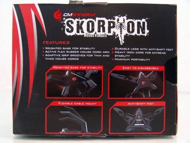 Cooler Master Storm Skorpion Mouse Bungee Review 03 | TweakTown.com