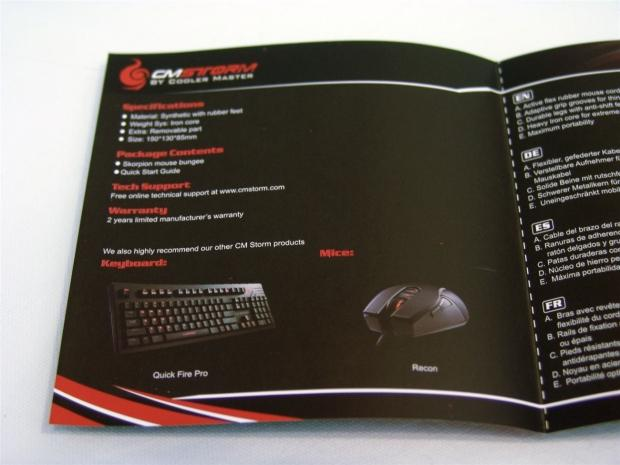 Cooler Master Storm Skorpion Mouse Bungee Review 22 | TweakTown.com