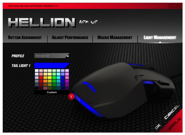Leetgion Hellion RTS激光游戏鼠标评论35|Tstrong Town.com