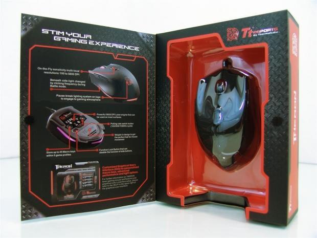 TT eSports Theron RTS激光游戏鼠标评论03|Tstrong Town.com